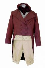 Deluxe Men's Regency Mr. Darcy Victorian Costume Size L/XL