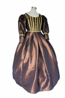Girl's Medieval Victorian Two Hooped Underskirt Age 8 - 15 Years
