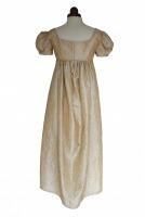 Ladies Cream 18th Century Masked Ball Victorian Handmade Cotton Lace Fan