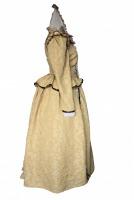 Ladies White Medieval Victorian Three Hooped Underskirt