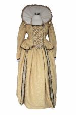 Ladies Deluxe Tudor Elizabethan Elizabeth 1 Costume Size Image