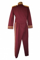 Men's Buttons Bell Boy Pantomime Costume Size M - L