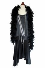 Ladies 1920s 1930s Flapper Charleston costume Size 12 - 14