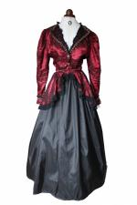 Ladies Deluxe Victorian Edwardian Day Costume Size 12 - 14  Image