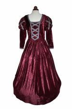 Ladies Petite Medieval Tudor Elizabethan Costume And Headdress Size 14 - 16