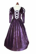 Ladies Petite Medieval Tudor Elizabethan Costume And Headdress Size 12 - 14 Image