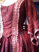 Ladies Marie Antoinette Masked Ball Georgian Wig