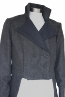 Men's Handmade Woolen Deluxe Mr.Darcy Regency Victorian Tailcoat Size Medium Ready To Go!
