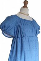 Ladies Grey Victorian Regency Lacy Gloves
