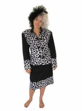 Ladies Cruella De Ville 101 Dalmations Costume Size 10 - 14