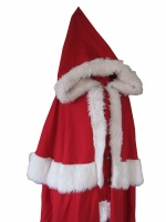 Mens Father Christmas Santa Fancy Dress Costume