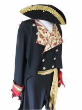 Mens 1980s Adam Ant Prince Charming Fancy Dress Costume