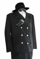 Mens 1920s 1930s Gangster Fancy Dress Costume