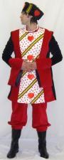 Men's Alice In Wonderland King of Hearts Costume