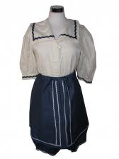 Ladies 1920s 1930s Bathing Belle Costume Size 10 - 12 Image