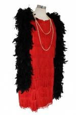 Ladies 1920s 1930s Flapper Charleston Costume Size 14 - 16
