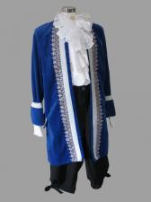 Mens 18th Century Masked Ball Masquerade Costume