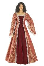 Ladies Petite Medieval Renaissance Costume And Headdress Size 10 - 12